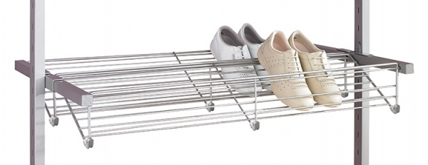 9. Aura Double Shoe Rack