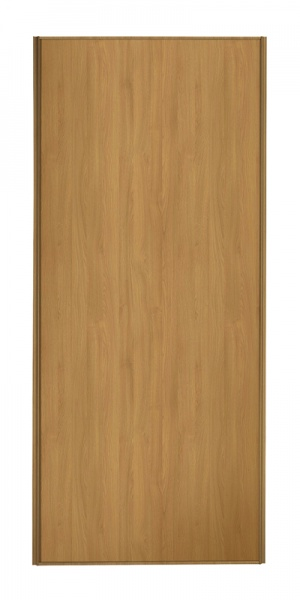 Classic Single Panel door with oak frame and single oak panel