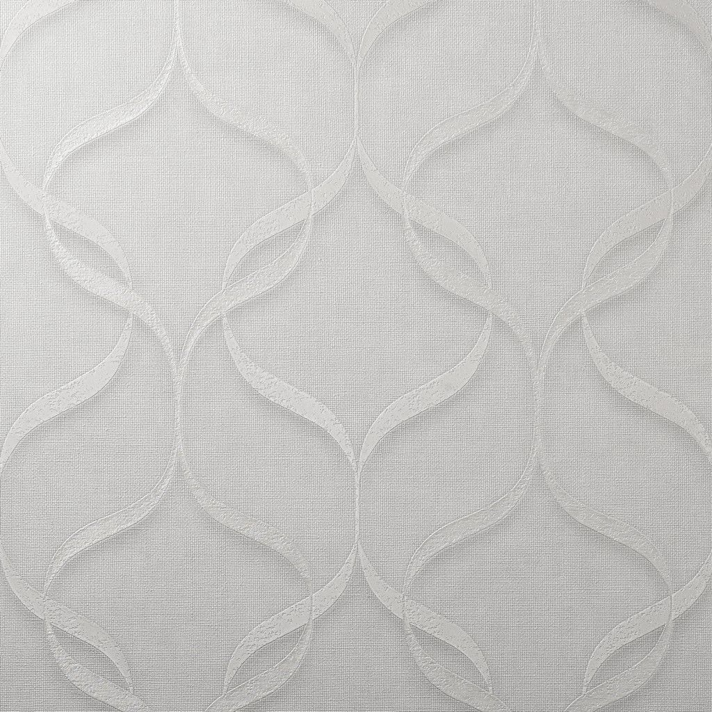Fine Decor Milano Geo Wave Off White/Linen Wallpaper (M95620)