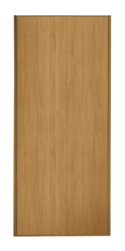 Heritage Single Panel door with oak frame and single oak panel