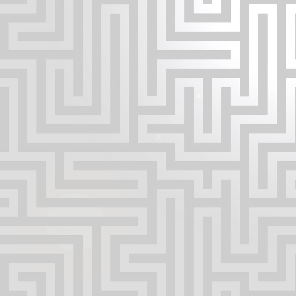 Holden Decor Glistening Maze Wallpaper - Silver/Grey (12910)